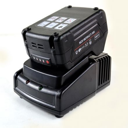 Hardin HD-4800-DC-49 18V, 4.0 Ah Lithium-Ion Battery with Charger for HD-4800-DC