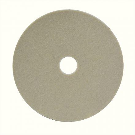 Hardin HD-6200-70 Polishing Disc - Wool Material for Soft Finish