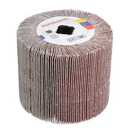 Specialty Diamond AW-180F Aluminum Oxide Nylon Flap Wheel (180 Grit) - Fits Hardin HD-5800 Burnisher / Polisher