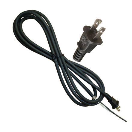 Hardin HD5-46 9 Feet 18 AWG SJO 2 Wire 125 Volt NEMA 1-15P Electrical Cord