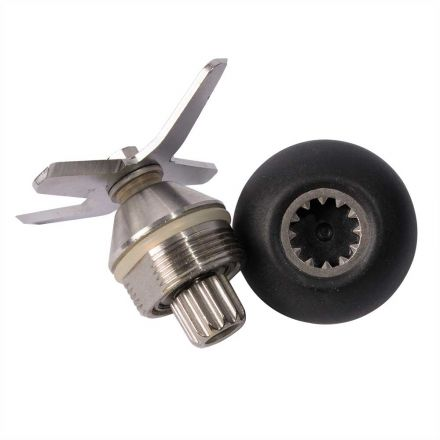 Hardin VM4BLADE-KIT Vita-Mix Replacement 12 COG 4 Leaf Ice Blade Assembly with O-Ring & Drive Socket