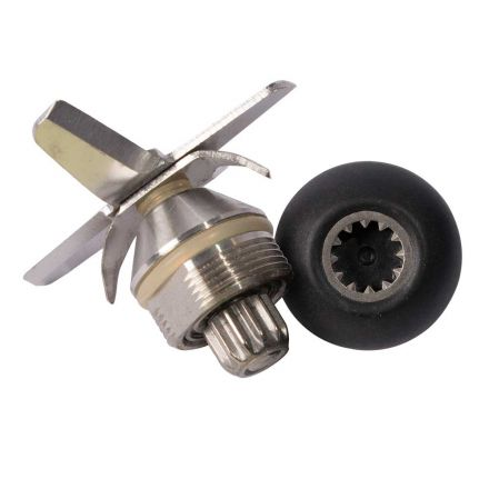 Hardin VM6BLADE-KIT Vita-Mix Replacement 12 COG 6 Leaf Ice Blade Assembly with O-Ring & Drive Socket